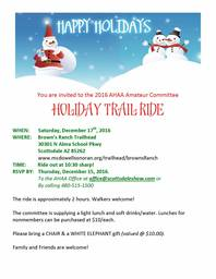 Holiday Trail Ride