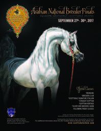 Arabian National Breeders Finals Schedule