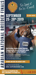Arabian National Breeder Finals - Entries Due August 30, 2019