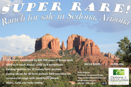 Ranch for Sale in Sedona, AZ