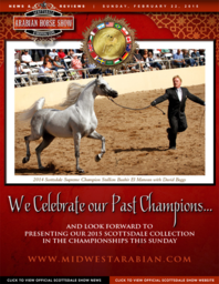 Scottsdale Arabian Horse Show News for Sunday, February 22, 2015