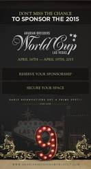Don't miss your opportunity to sponsor the 2015 Arabian Breeders World Cup!
