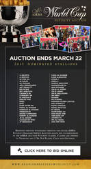 Times running out!! The 2015 AHBA World Cup Futurity Auction is almost over!