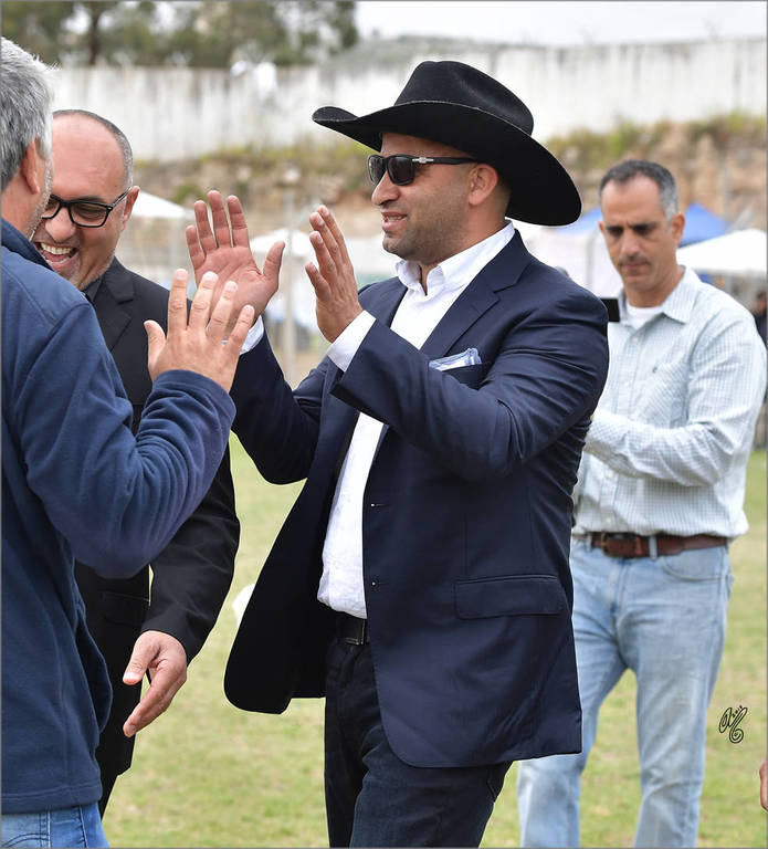 Muhannad Darawsha, Chairman of the Israel Arab Horse Society