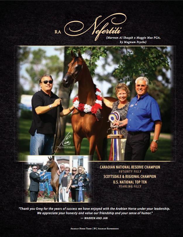 June 2017 Arabian Horse Times Feature