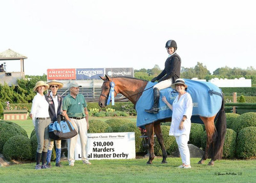 Ferrell and Hemingway winners of the Local Hunter Derby (c) Shawn McMillen Photography