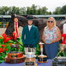 """Lucy Reich  & Indelible Small Junior Hunter 3'3"""" 16-17 Reserve Champion ©ESI Photography"""