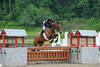 David Raposa and Five-Year Old Jade Win $5,000 Devoucoux Hunter Prix