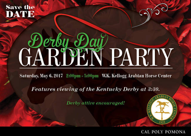 2017 Derby Day Save the Date