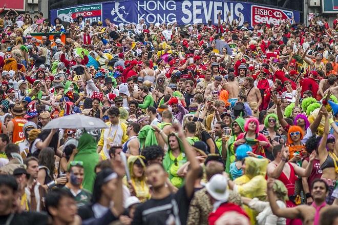 Cathay Pacific / HSBC Hong Kong Sevens 2014 - Day 2
