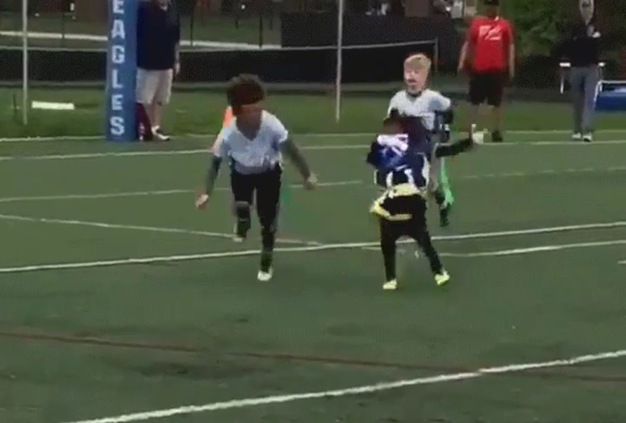 T.Y. Hilton's 4-Year Old Son Is An Ankle-Breaker Named Little Ghost
