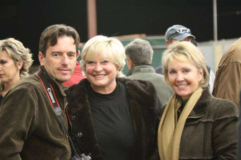 Scott, Carol Steppe & Debra Schliem