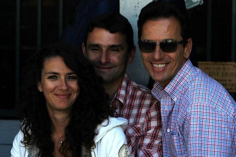 Elisa, Frank & Scott