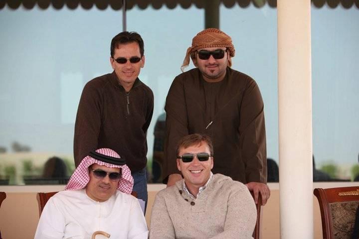 Scott, Little Mohammed, David & Mohammed