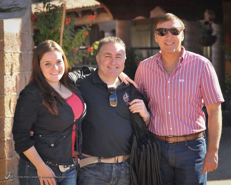 Catherine, Ron & David
