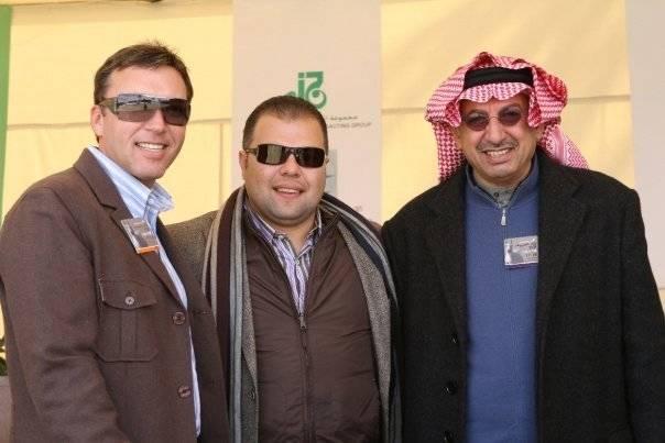 David & Tarek in Cairo