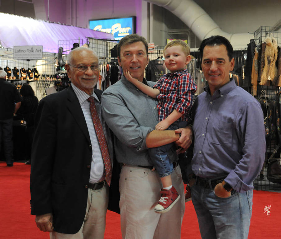 Chase with Dr Nasr Marei, D and Scott!