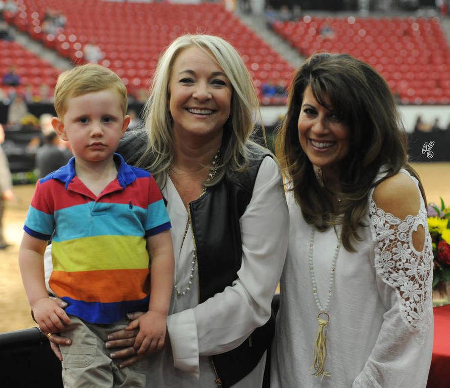 Chase with his friends Melissa Holmes and Denise Marino talking politics! ;-)