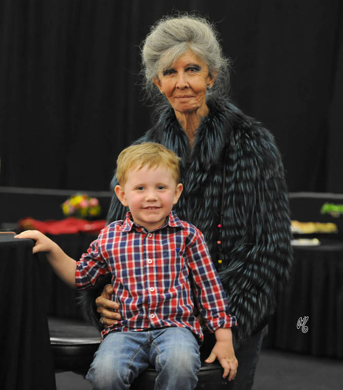 Chase and the legendary lenita Perroy!