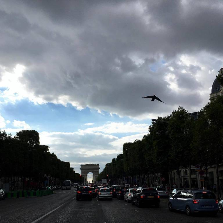 Paris in the summer is awesome!