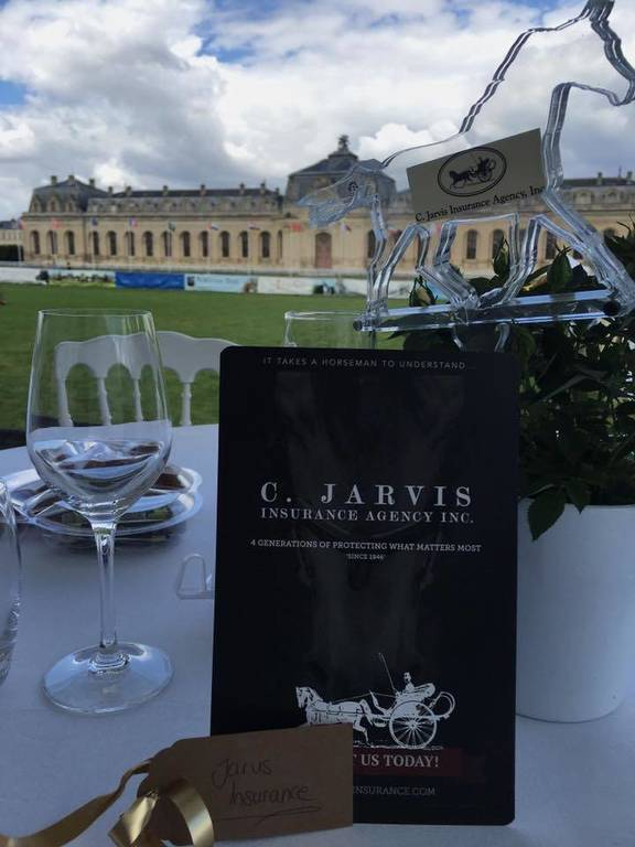 Jarvis Insurance at the 2016 Breeders Cup in Chantilly