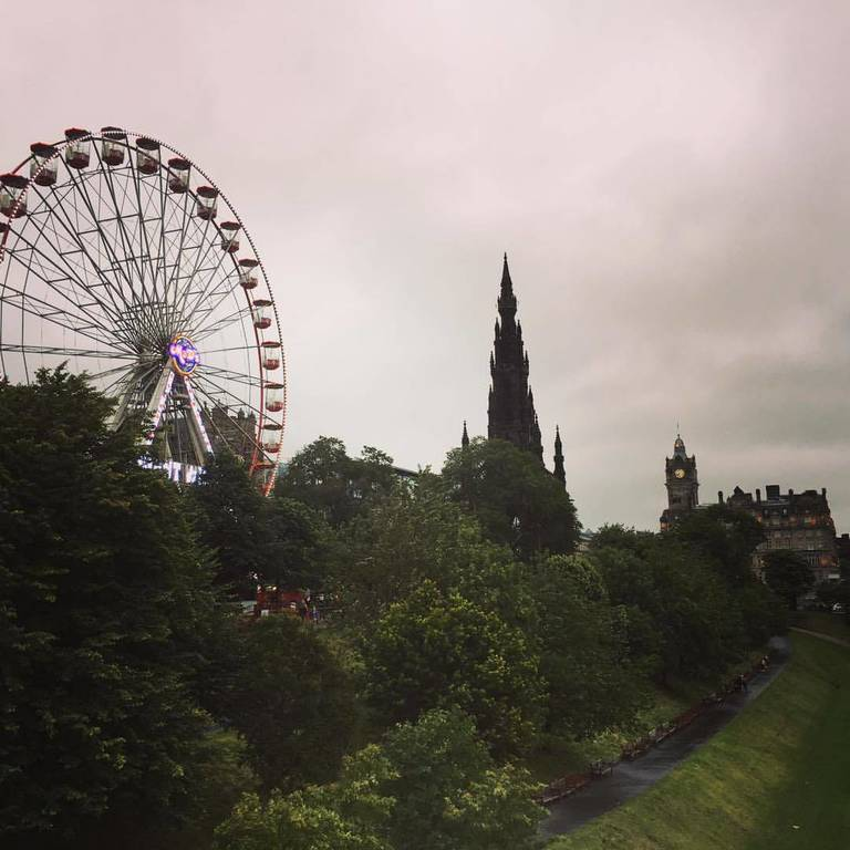 Beautiful Scotland in Edinburgh, United Kingdom.