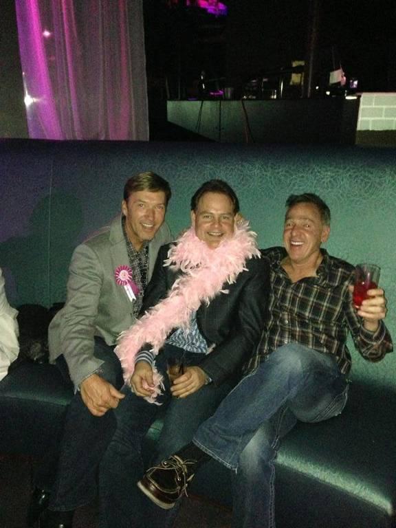 David, Jeff & Michael celebrating David's Birthday in Vegas!