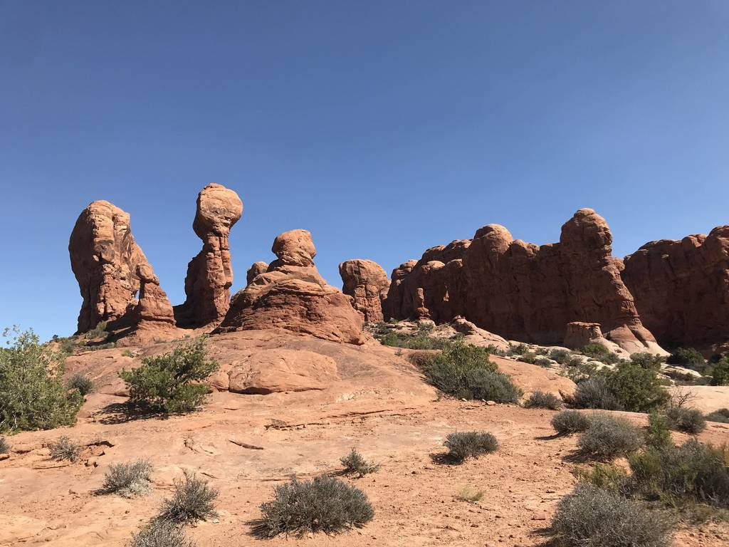 Moab Utah, Arches National Park