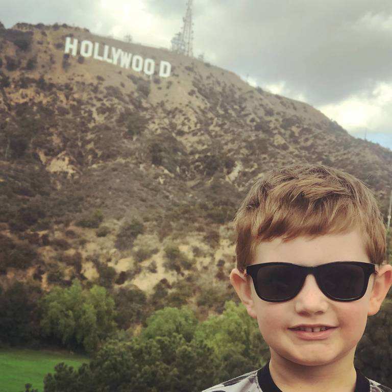 Chase in Hollywood!