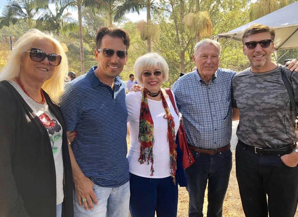 Christine, Scott, Dixie, Bob & David