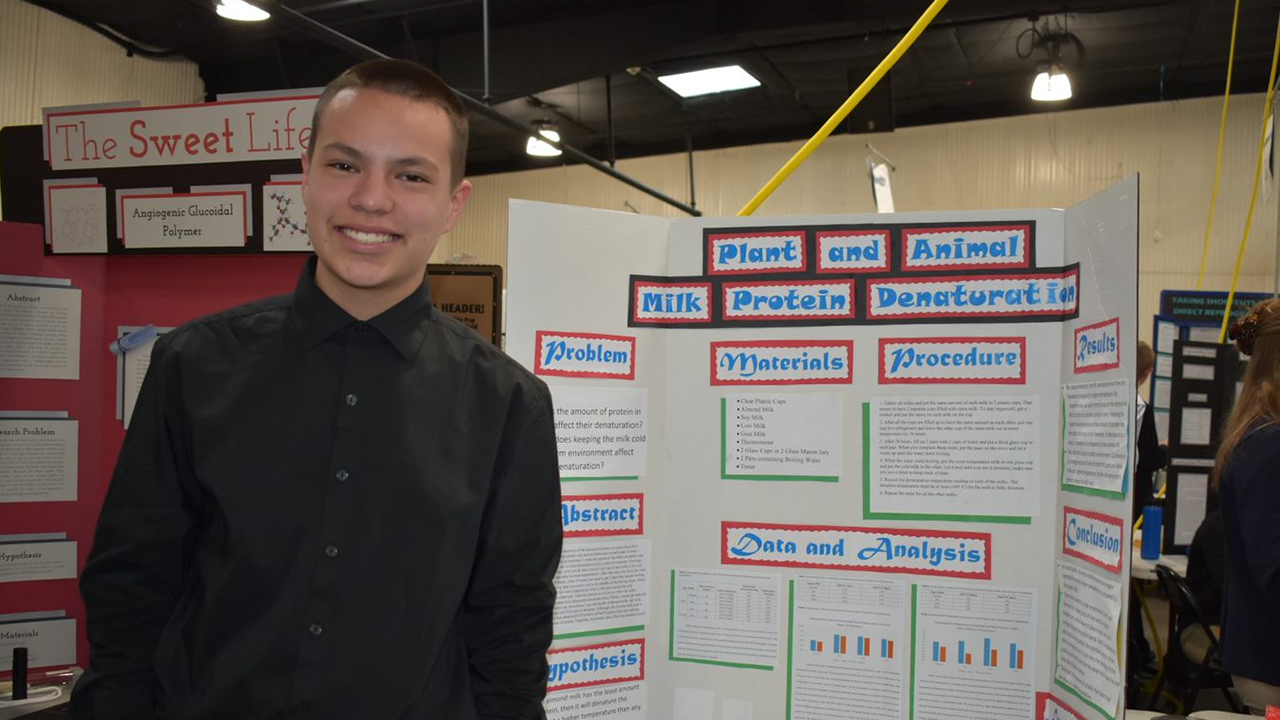 UNM STEM-H Center hosts 61st Annual Central NM STEM Research Challenge