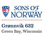 Sons of Norway Green Bay Wisconsin Lodge logo.