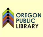 Logo of the Oregon Wisconsin Public Library.