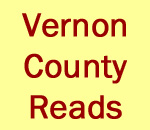 Vernon County Reads graphic created by Scott Meeker.