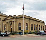 Photo of the Decorah Iowa Public Library.