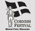 Mineral Point Wisconsin Annual Cornish Festival logo