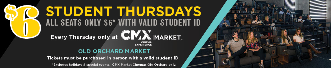 Student discount - Old Orchard Market