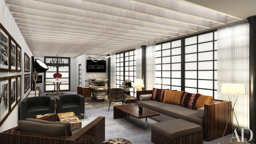 Architect David Rockwell Designs the 2014 AD Greenroom