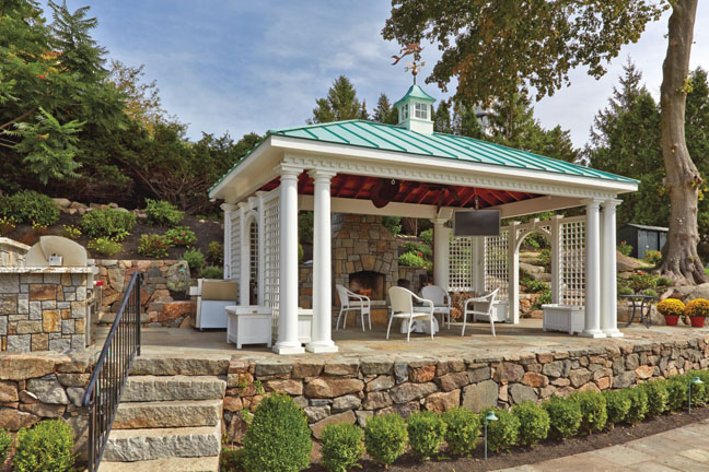 Outdoor structures from walpole ad360 for Walpole outdoors