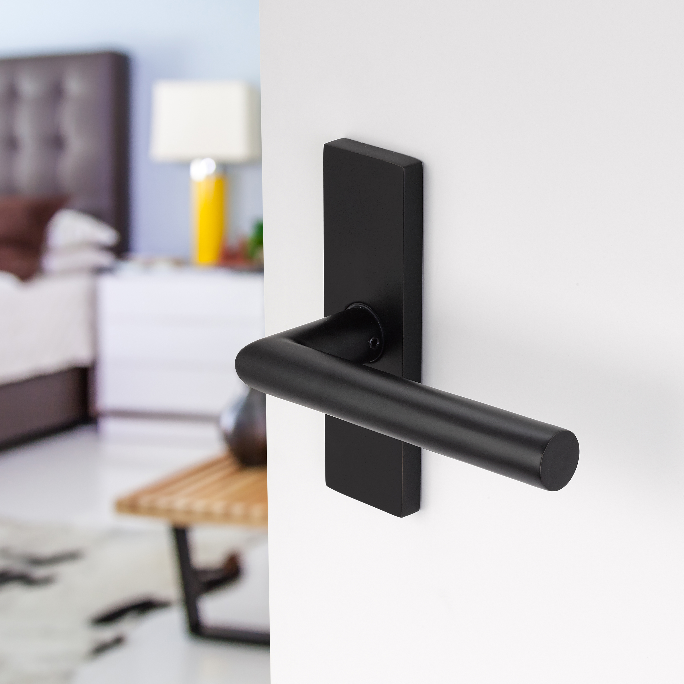 minimalism in door hardware june & Emtek Door Hardware. Stainless Steel Stuttgart Lever. Emtek ... Pezcame.Com