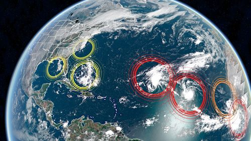Image for Hurricane season peaks today, and the Hurricane Center is watching 7 systems