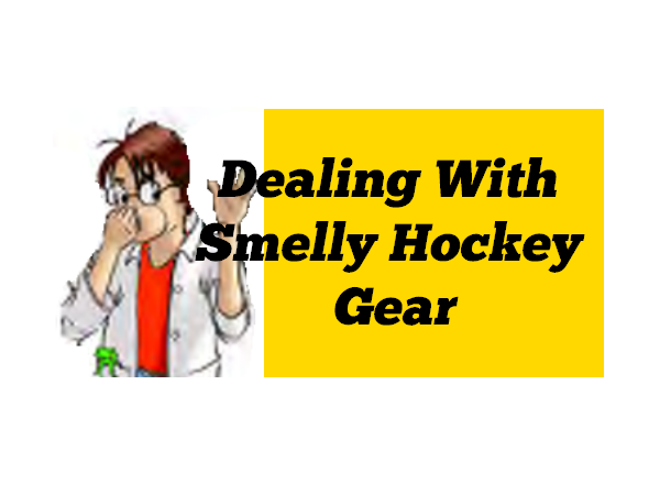 Dealing With Smelly Hockey Gear