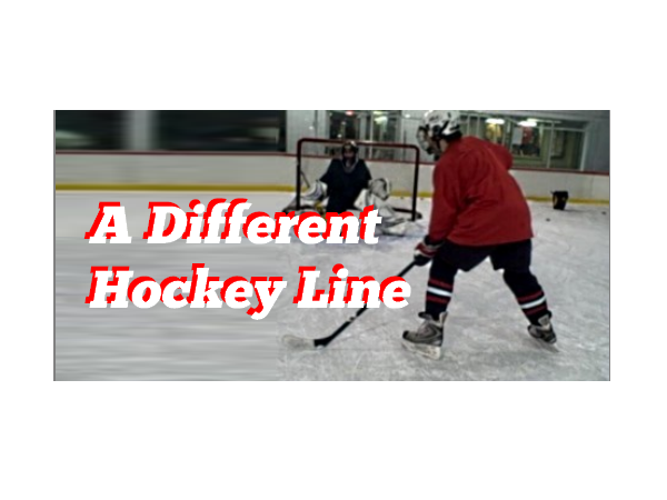 A Different Hockey Line