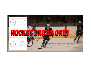Hockey Drills Only group