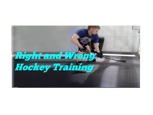 Right and Wrong Hockey Training