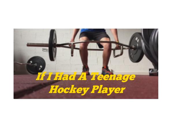 If I Had A Teenage Hockey Player