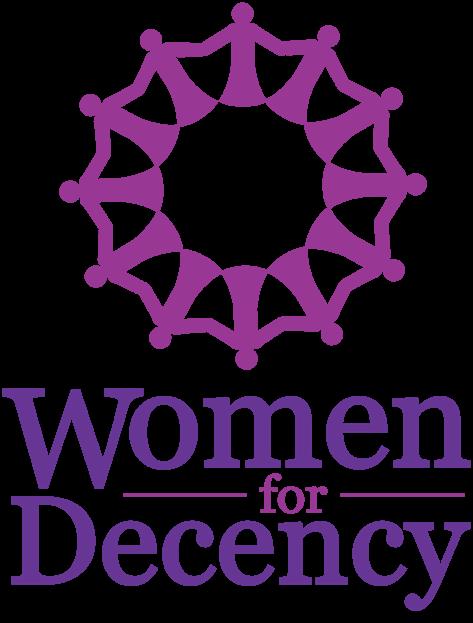BeAware_Logo_WomenForDecency_Vertical