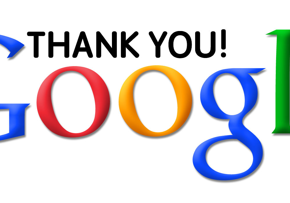 DD_Google thank you google
