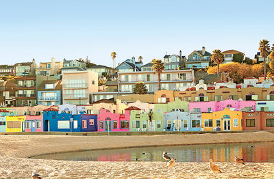 Happiest seaside towns