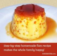 Homemade Flan Recipe